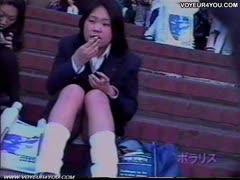 school woman pants observation voyeur