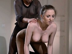 19yo Schoolgirl Gets Sex From Strap On