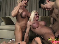 ashlee-wildkat-and-alura-4-way-fun
