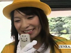 Subtitled Ribald Dirty Talk From Japan Tour Bus Guide