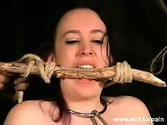Bizarre Needle Punishment Slavegirl Nimue