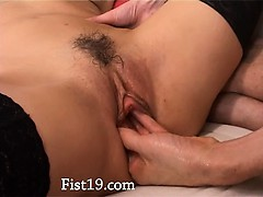 Fisting And Deep Anal Sex With Thin