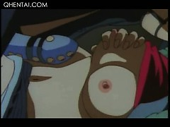 Hentai Mistress In Latex Fucking Her Sex Slave With A