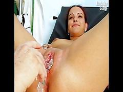 Bridgit Gyno Pussy Proper Speculum Examination At Kinky
