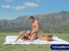 Outdoor Love Session For Gay Lovers