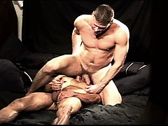 Cbt Session Between Two Muscular Studs Include Cock