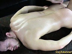 Amateur Straight Guy Gets Anal Fingered