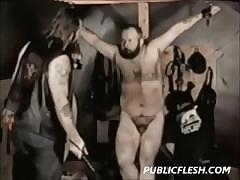 Gay Bear Spanking And Bondage
