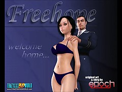 3D Comic. Freehope. Episode 1