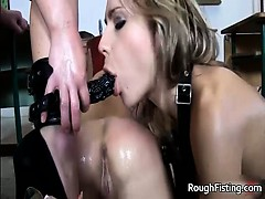 Horny Teacher Punishes Her Students Part3