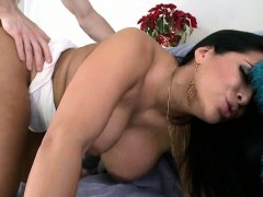 Brunette Is Fucked Hard Have Big Ass, Latin Ass Big Brown