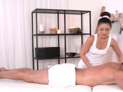 Masseuse Giving Dick Massage And Fucking