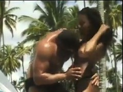 Black Couple Fucking At The Beach