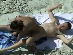 Watching Horny People At The Beach