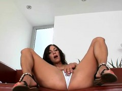 Hot Girl Plays With Her Pussy In Front Of Her Boyfriend