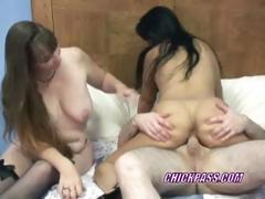 Swinging Val In A Threesome With Mature Brooke