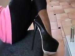 Seven Inch High Heels