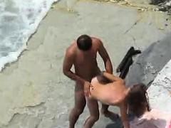 Horny Nudist Couple Unaware Of Spy Camera