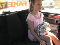 Cute Amateur Blondie Czech Girl Banged By Horny Driver