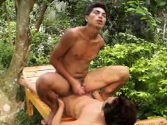 Gay Asian Twinks Masturbate After Sex
