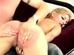 Amateur Otk For Blonde Girlfriend