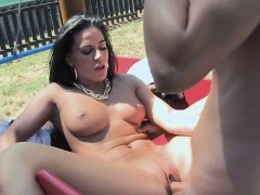 Athina Got Fucked In Public View