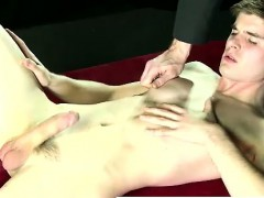 Gay Man In Mask Strips And Fingers Mormon Missionary