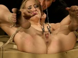 Sexy girl blonde pov