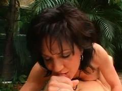 Brunette Milf Gets Soft Cunt Licked And Fingered
