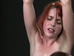 Pretty Redhead Sub Fucks Master In Bdsm