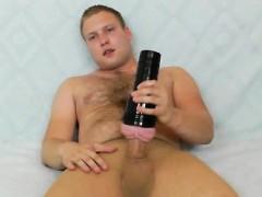 Gay Teddy Bear Does A Solo In Nylon Panty hose