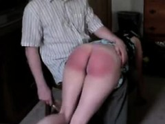 Nasty Punishment With A Hairbrush