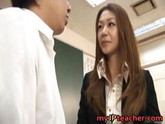 Junna Aoki Hot Asian Teacher Gets Part3