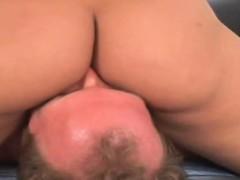 Очень большая и толстая попа