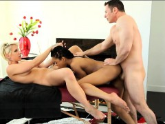 dylan-phoenix-and-kira-noir-threesome-on-masage-table