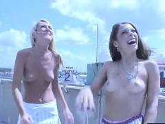 Debauched Public Nudity 2 Gorgeous Sluts