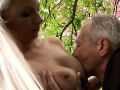 She Is A Real Blond Sweetie But He Is More Interested In His