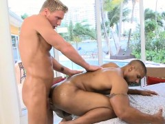 Lovely Twink Is Delighting Hunk With Wet Booty Anal Drilling