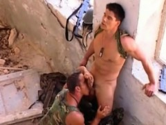 Beefy Hot Muscular Military Fucking