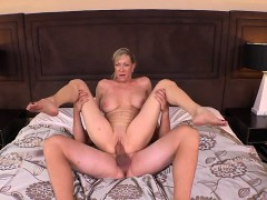 Busty Housewife Ass Fucked Hard