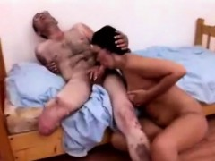 Mature Cripple Gets Lucky With His Big Stacked Caregiver
