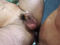 Fat Dude Steals Cock In The Shop