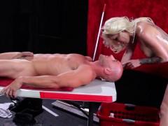 Stevie Shaes Massage After Bodypaint Posing