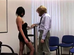 Amateur Gets Handjob From Naughty British Cfnm Nurses