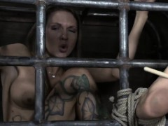 serf gets her beaver punished from lusty dominatrix WWW.ONSEXO.COM