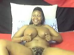 busty-ebony-whore-teases-her-body