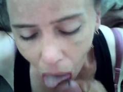 Cheating Amateur Milf Sucks And Facial