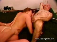 Shanna Mccullough Fucks Two Old Guys