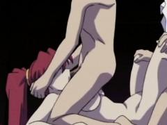 Hentai Gagged School Babe Gets Threesomed