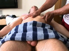 Sensual And Sexy Massage Session For Charming Twinks